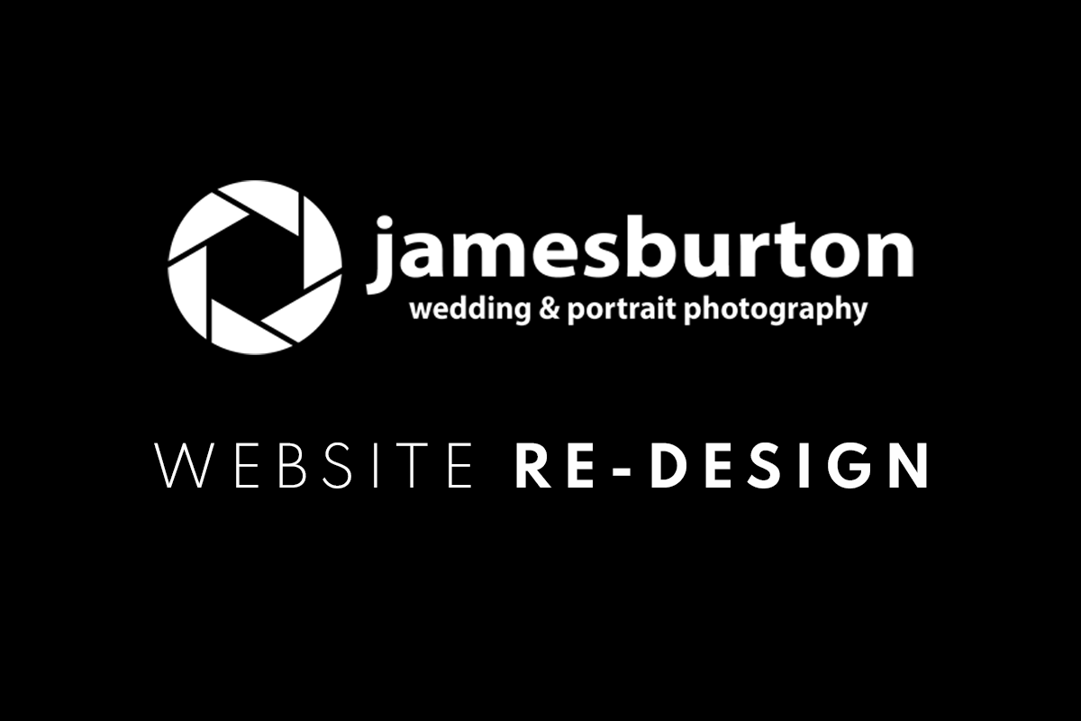 Read more about the article James Burton Photography Website Re-Design